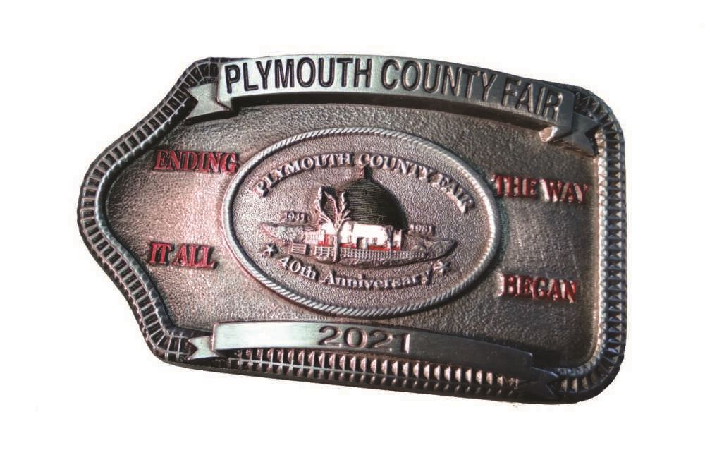 The 40th & Final Year of the Toy Club's Belt Buckle