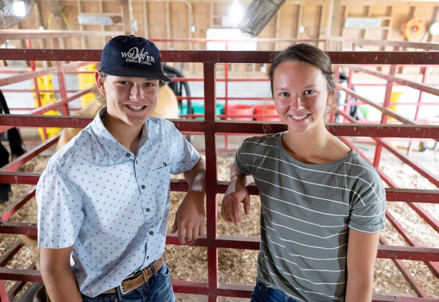 Peters are Looking Forward to the 2021 Fair