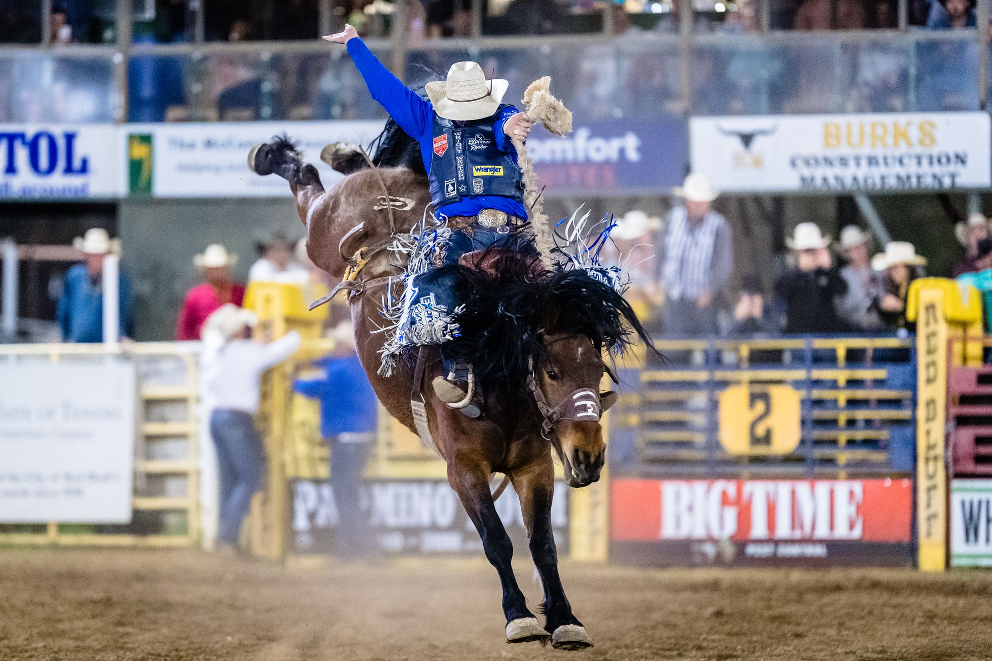 Saddle Bronc Riding- Spencer Wright