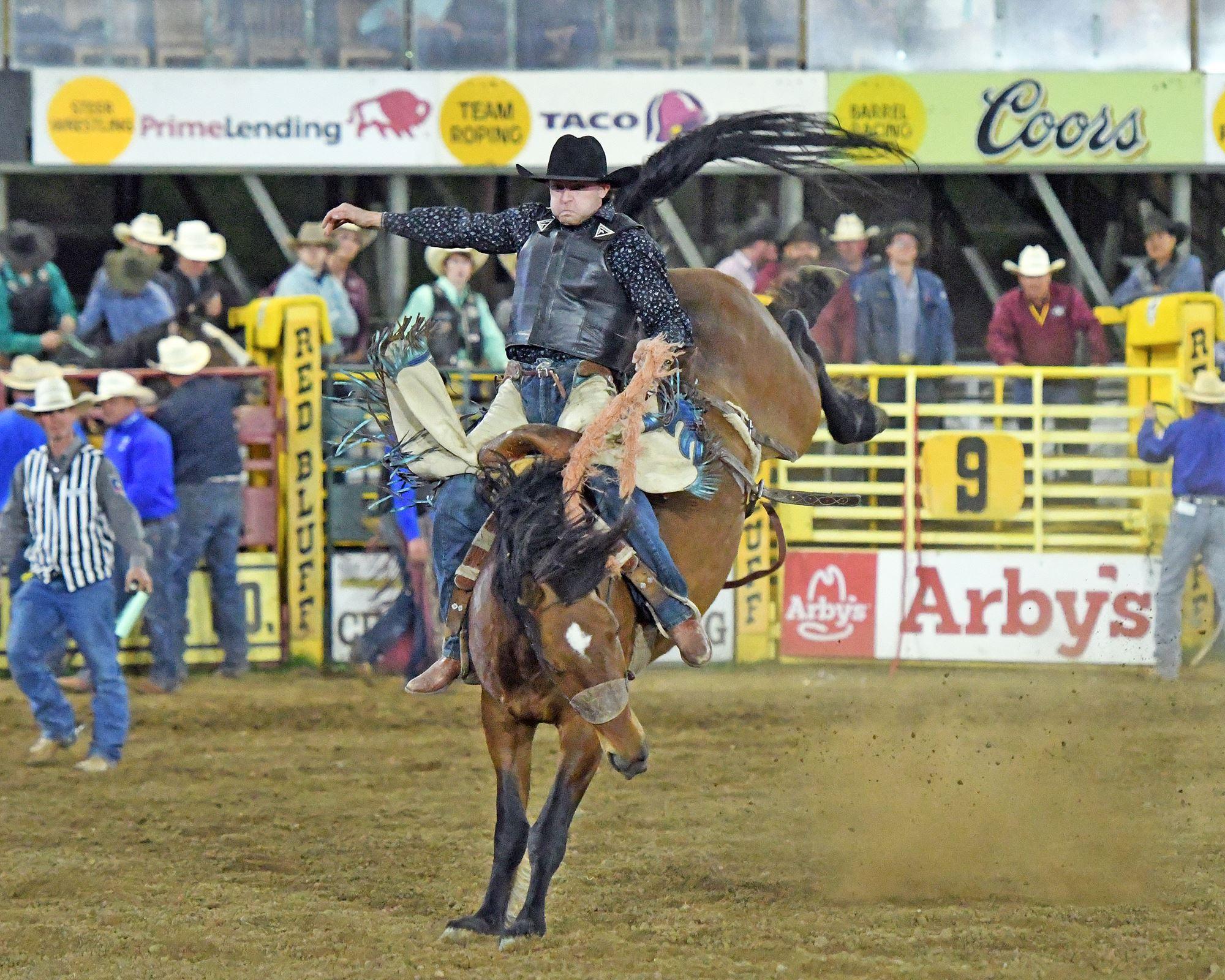 Permit Saddle Bronc- Brody Wells