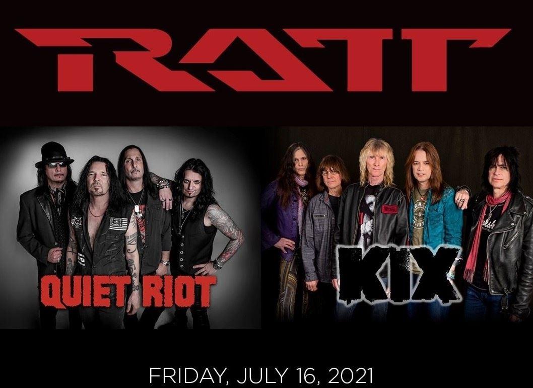 Ratt / Quiet Riot / Kix