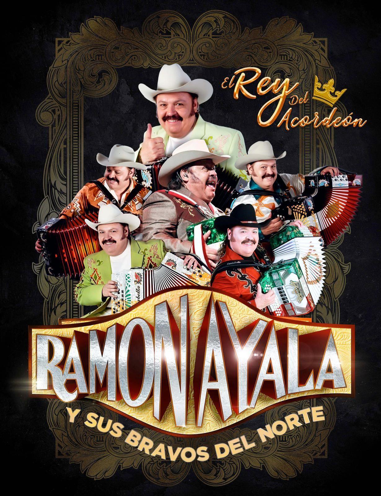 Noche del Vaquero w/ Ramon Ayala y sus Bravos del Norte<br>Sunday, Feb. 20, 2022 at 7 PM