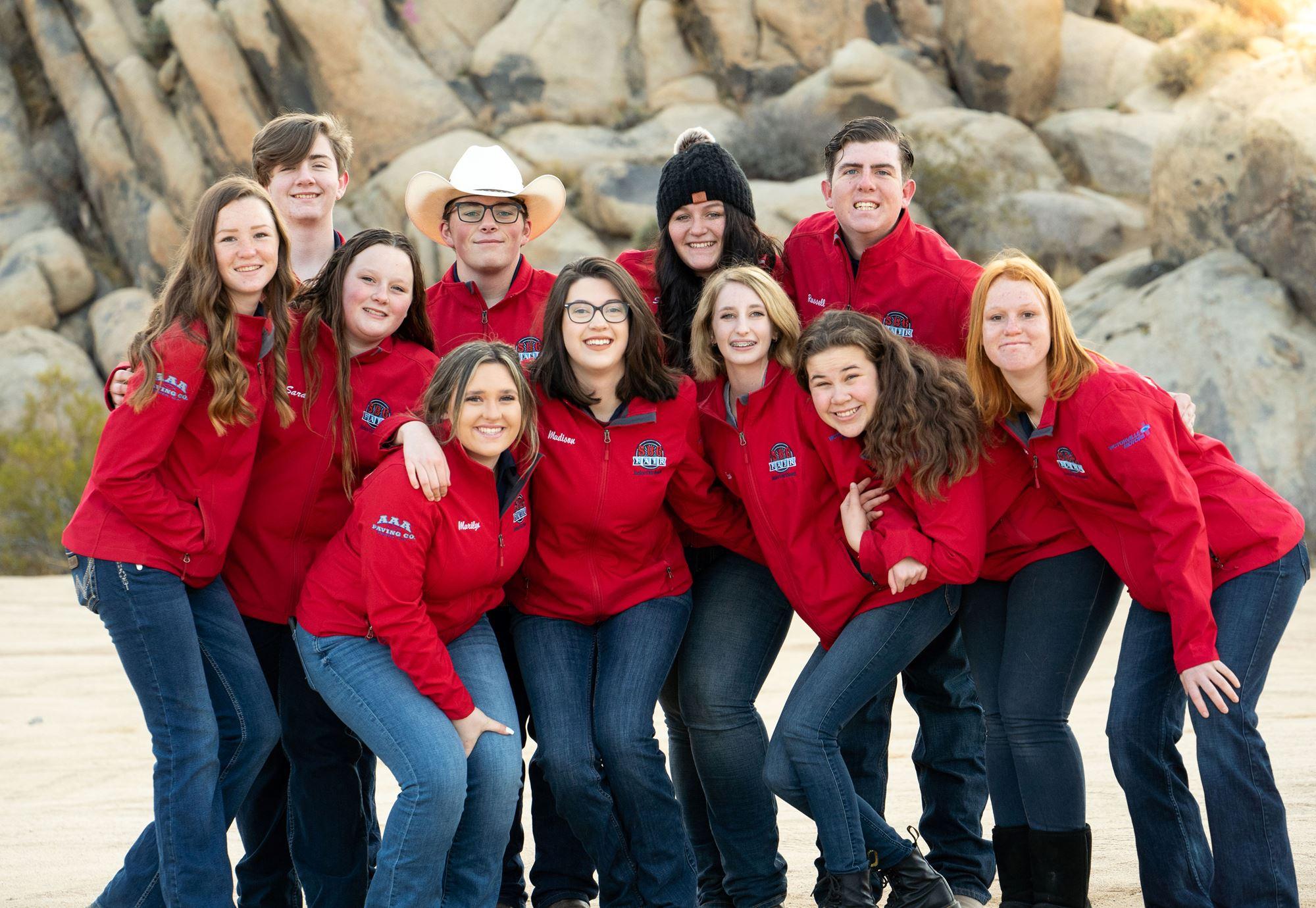 2021 SBC FAIR Junior Fair Board Team