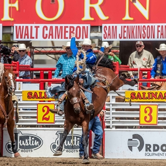 THE CALIFORNIA RODEO SALINAS WILL RIDE AGAIN IN 2021