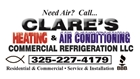 Clare's Heating & Air Conditioning