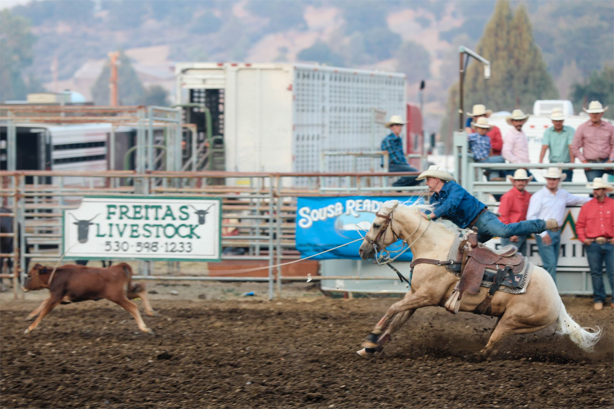 Mechanics Bank <br> RODEO SHOOTOUT<br> presented by Pape Machinery