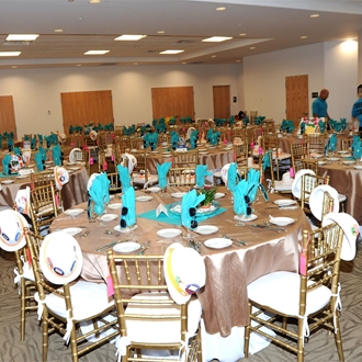 2016 Opening Luncheon Centerpieces