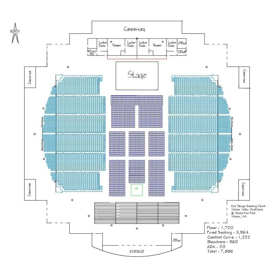 Seating Charts Maps
