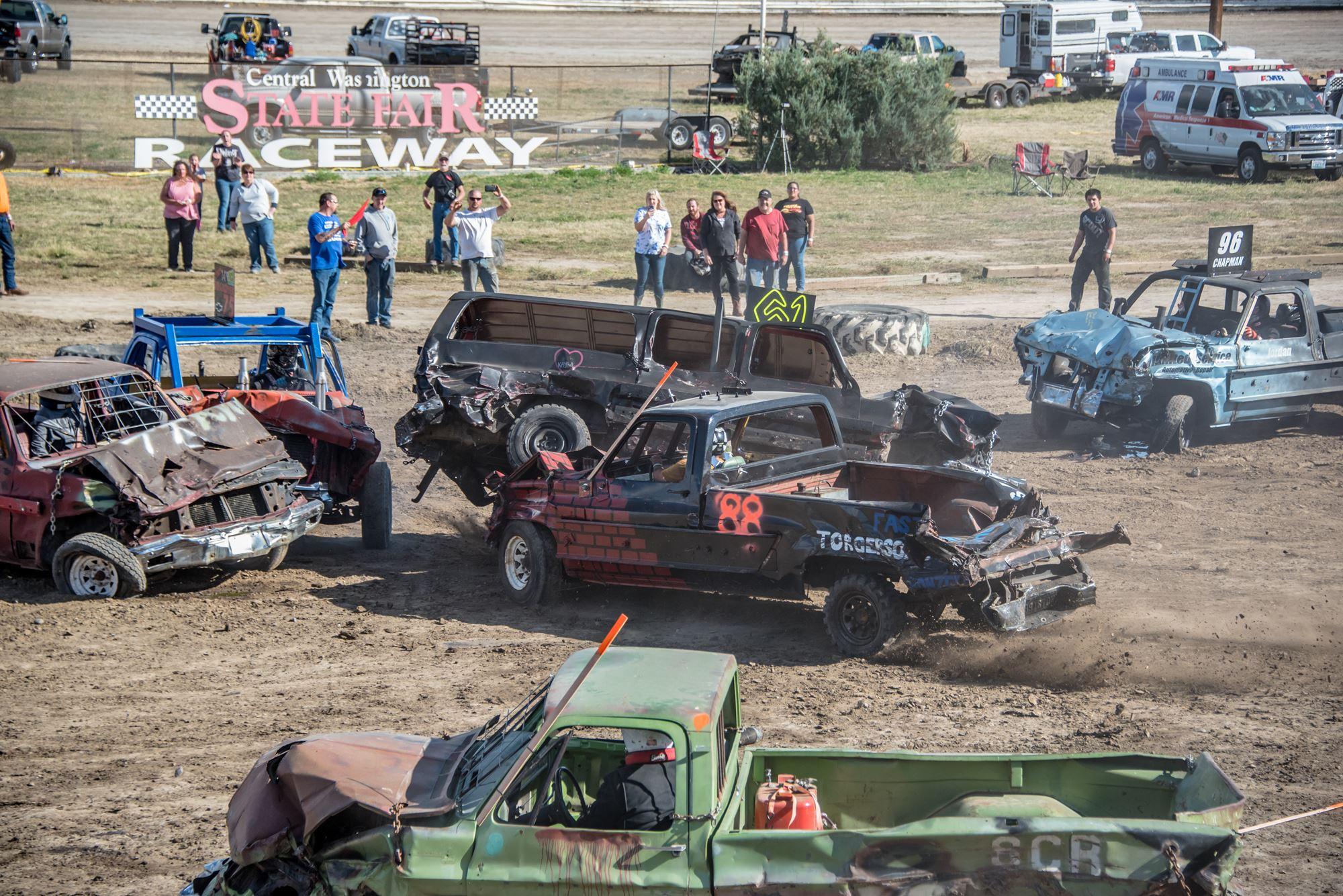 Truck Demolition Derby