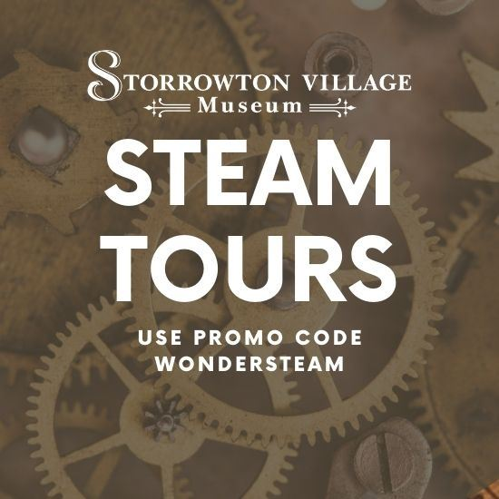 STEAM Tours - Tuesdays to Fridays at 1pm