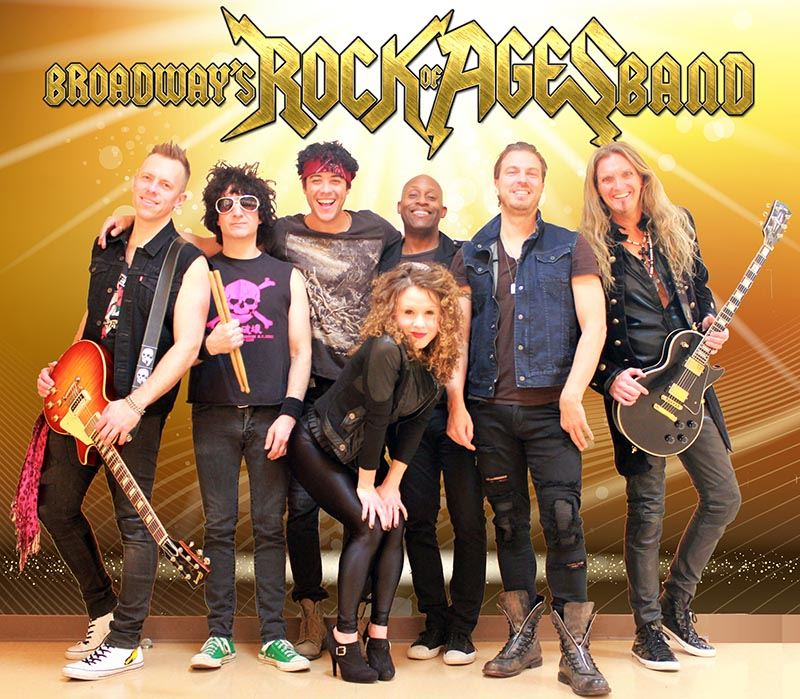 Broadway's Rock of Ages Band - 9/24