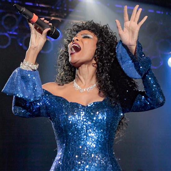 Rainere Martin in the Donna Summer Experience - 9/20-21