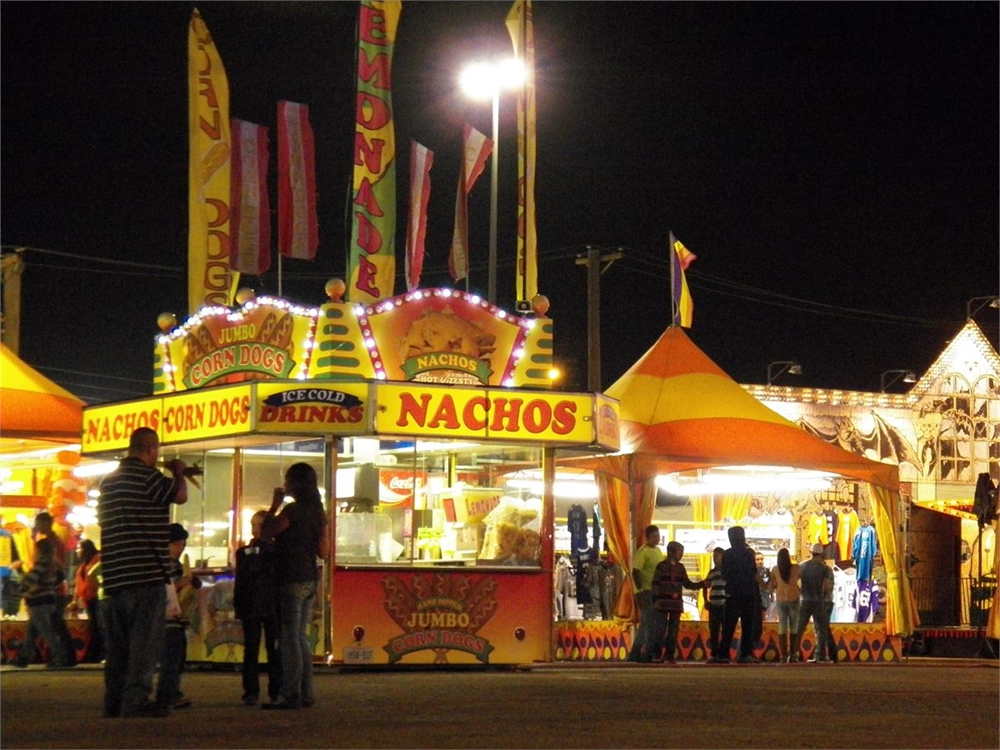 There's only one chance a year to get Fair food!