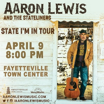 AARON LEWIS & the Stateliners STATE I'M IN Tour