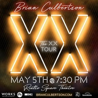 Brian Culbertson's The XX Tour Just Announced at Rialto Square Theatre