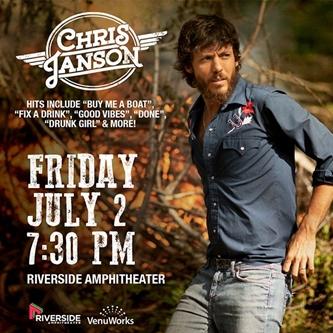 Chris Janson to Entertain Jefferson City