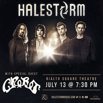 VenuWorks Presents Halestorm with Special Guest Crobot