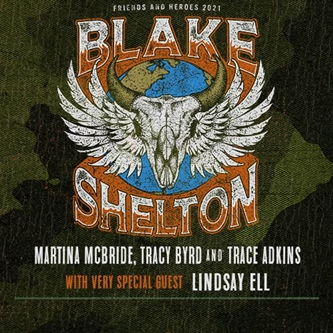 Blake Shelton is Back With Friends and Heroes 2021 Tour