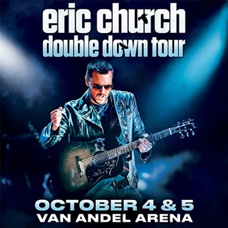 Eric Church adds Grand Rapids Stop to Extended Double Down Tour