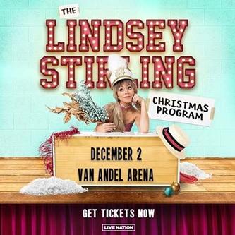 Lindsey Stirling Announces Lindsey Stirling Christmas Program