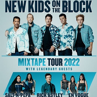 New Kids on the Block Announce the Ultimate Party with The MixTape Tour 2022