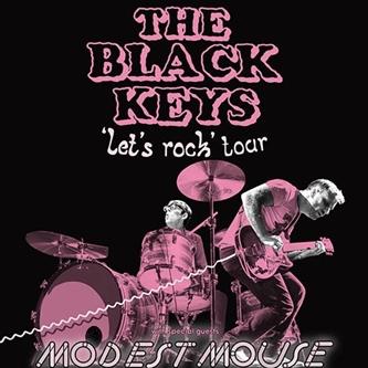 The Black Keys North American Tour Let's Rock Tour