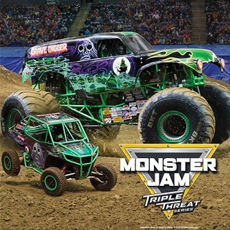 Monster Jam Returns to Grand Rapids for an Action-Packed Weekend of Family Fun on October 8-10
