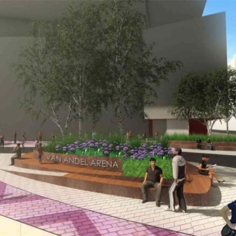 Van Andel Arena Plaza Renovation Begins in Spring 2020