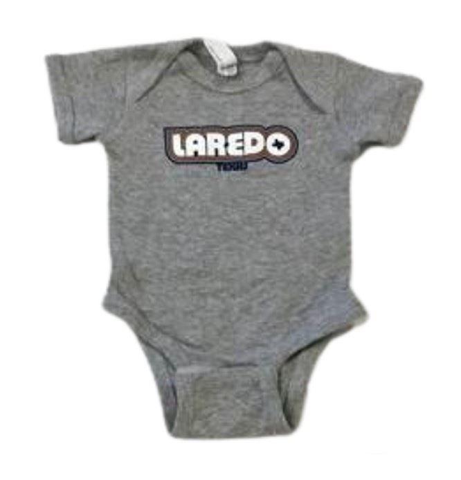 Laredo Gray Onesie