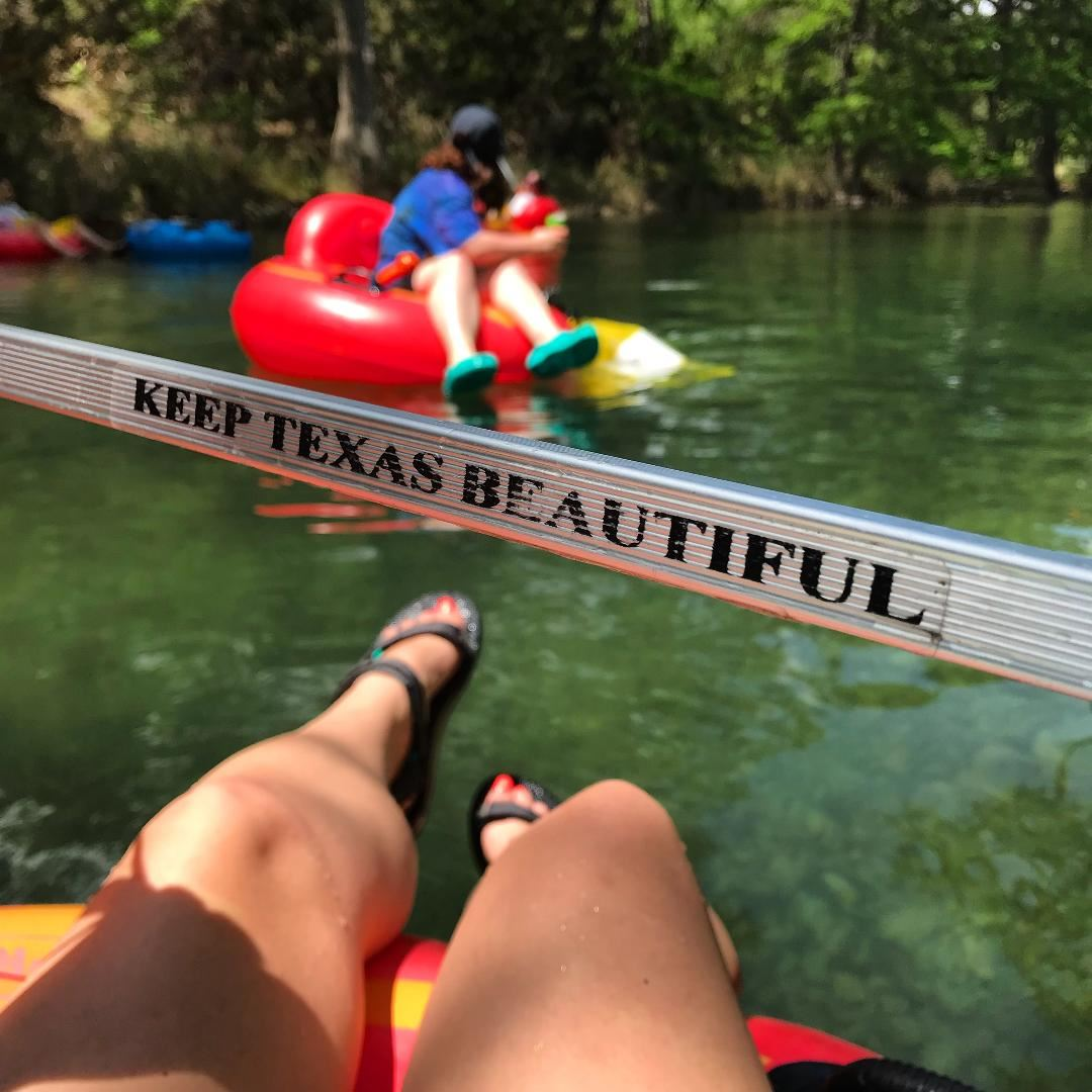 365 Days of Hiking - Don't Trash Where You Splash