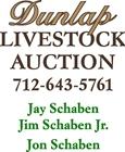 Dunlap Livestock Auction