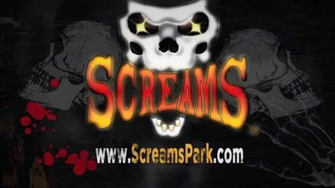 Screams Halloween Theme Park Promo