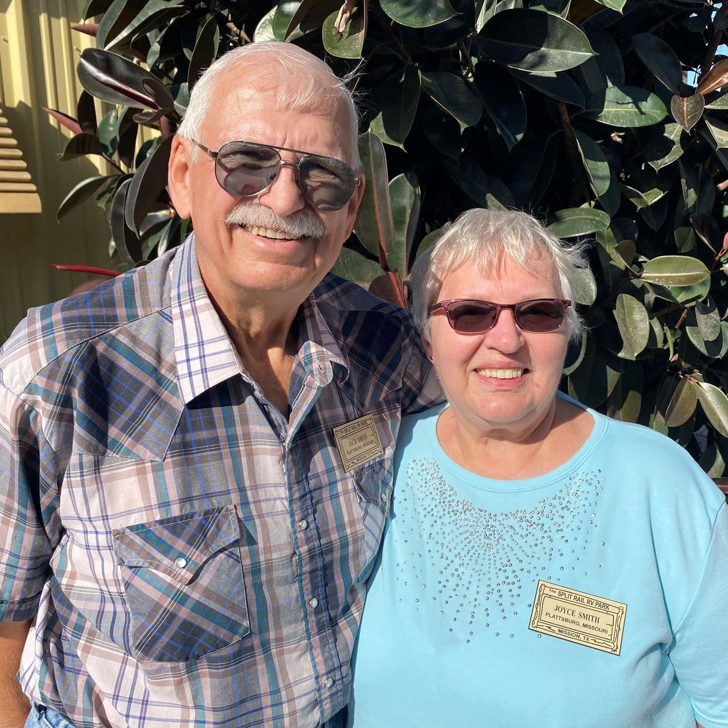 Jack and Joyce Smith
