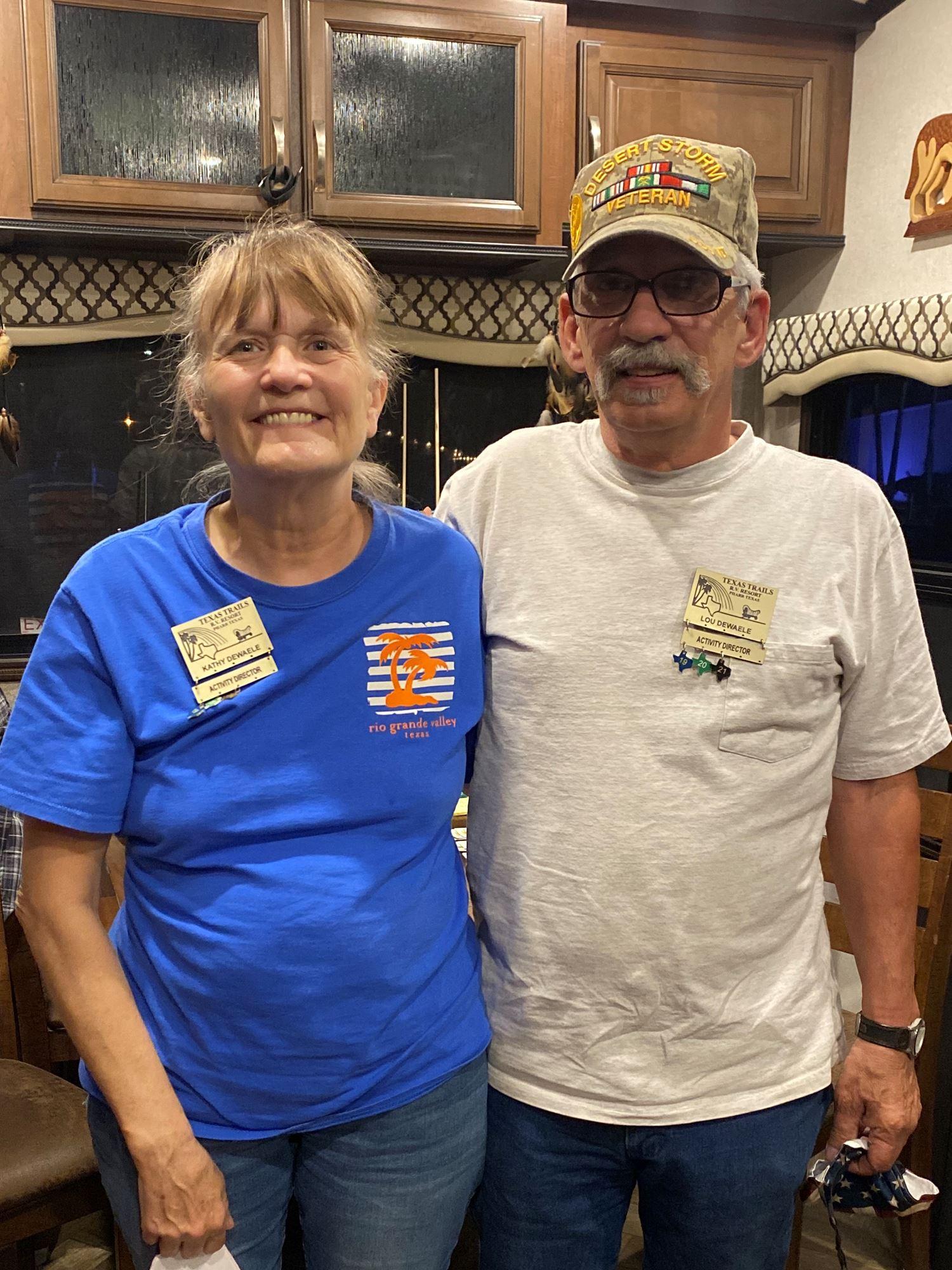 Kathy and Lou Dewaele