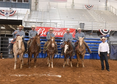 2021 WHC Ranch Rodeo Winning Ranch Team- Matthews/Nail Ranches