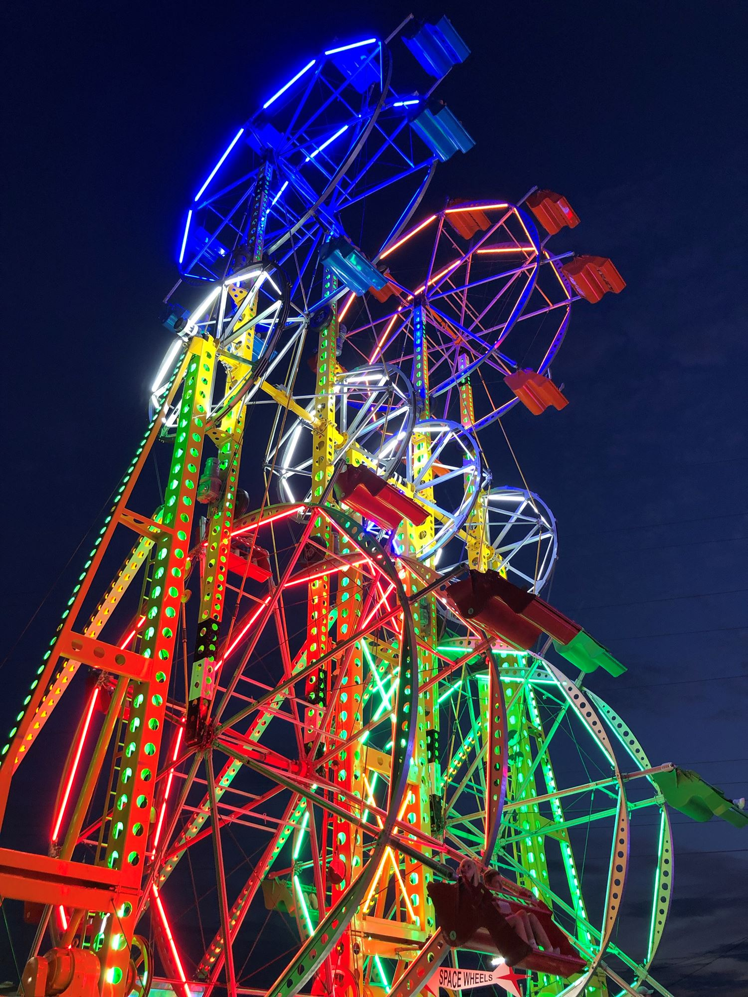 Ferris wheel with link to midway ticket prices