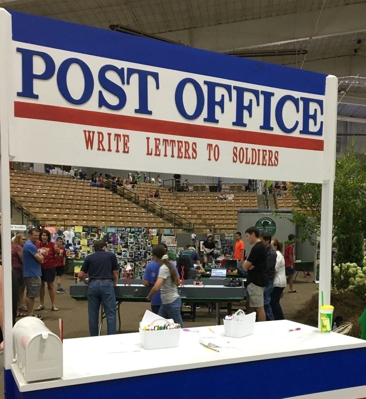 Letters to Soldiers Post Office