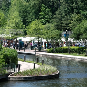 The Woodlands Waterway Arts Festival Through the Pines